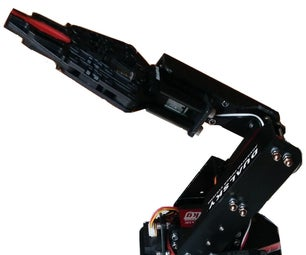 Remote Controlled Smart Robotic Arm