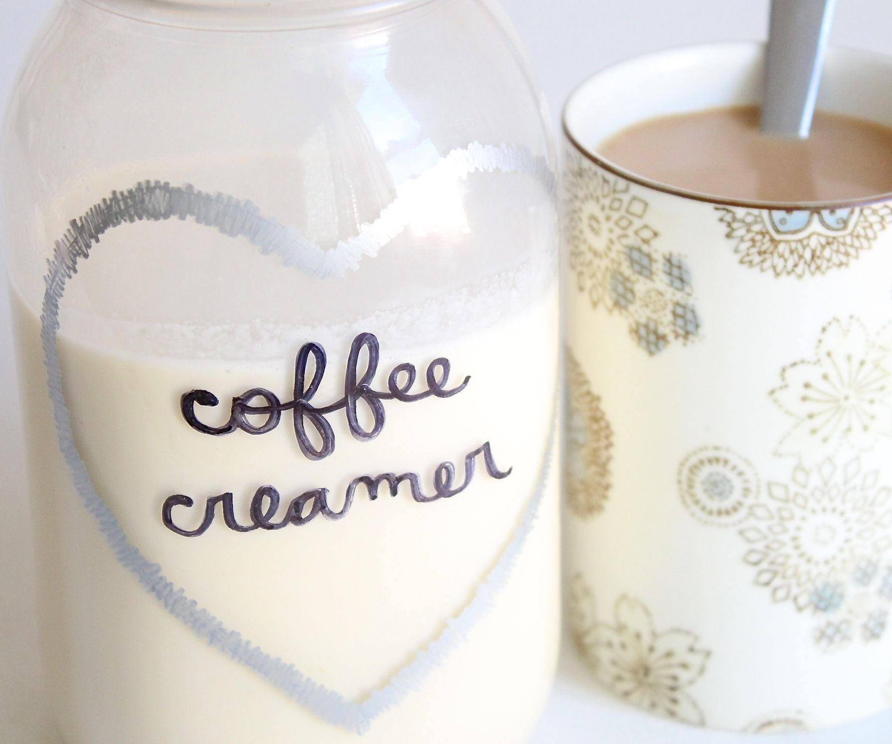 coffee creamer recipe