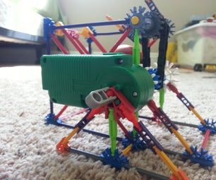 Hof Jr- the Tiniest K'nex Ball Machine!