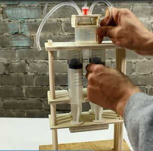 Making the Water Splitter