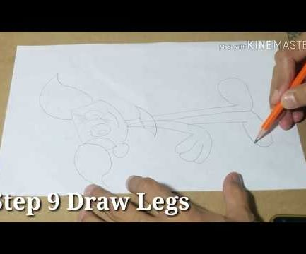 How to Draw Dee Dee Step by Step