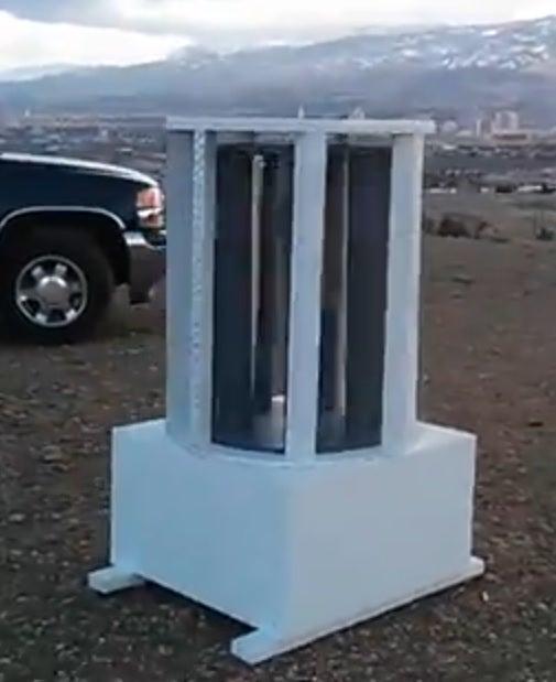 Wind Mill (vertical Axis Wind Turbine)