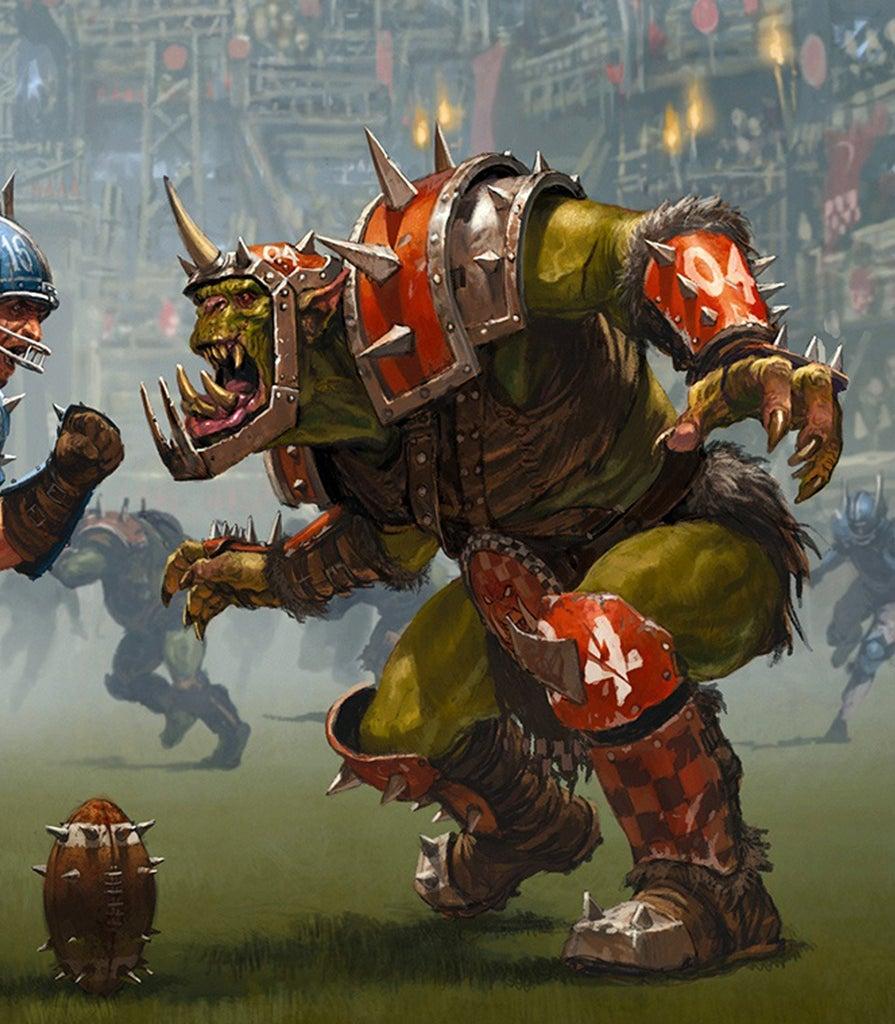 Warhammer Blood Bowl Orc