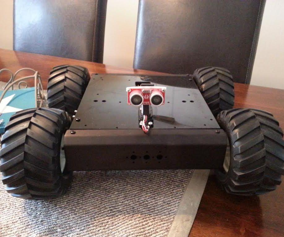 Autonomous  Lynxmotion Rover