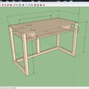 Simple 2' x 4' Computer Desk