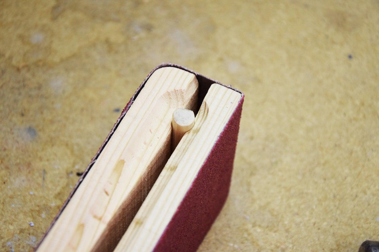 Cut Dowel Pin