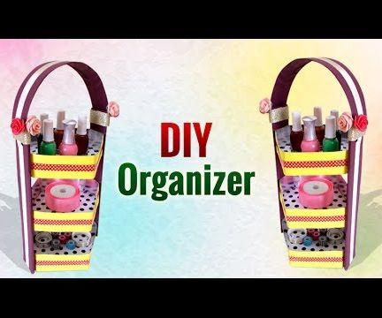 DIY Recycled Crafts: How to Make DIY Cardboard Organizer