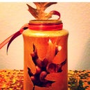 Upcycle Thanksgiving Candle