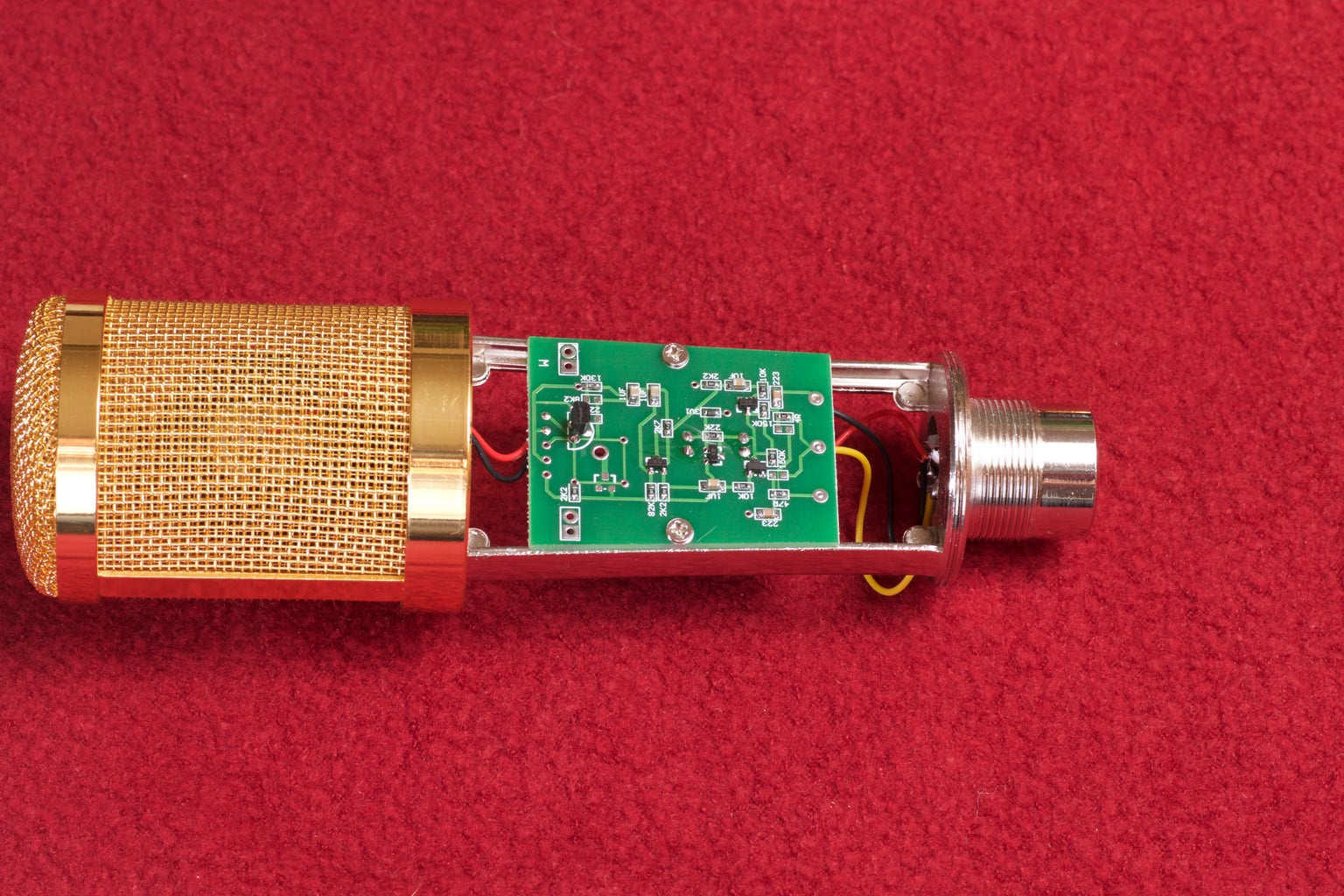 Step Two: Disassemble the Original Microphone