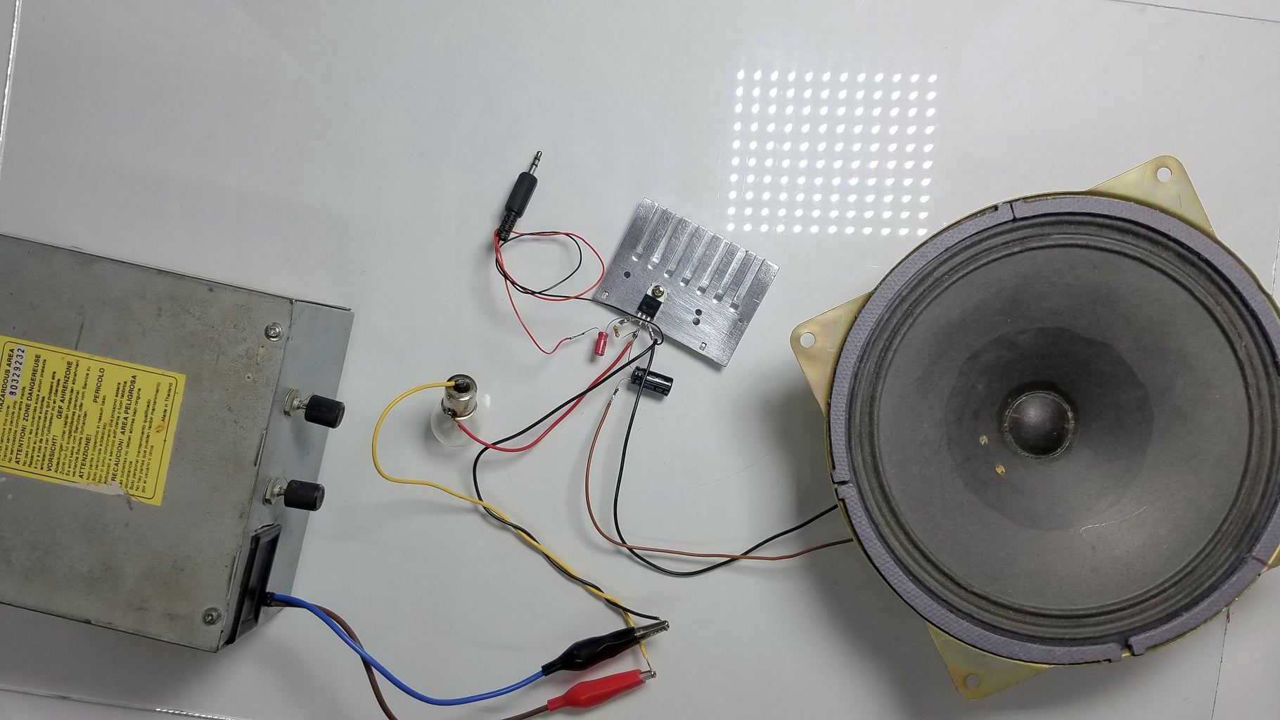 Connect a Power Source