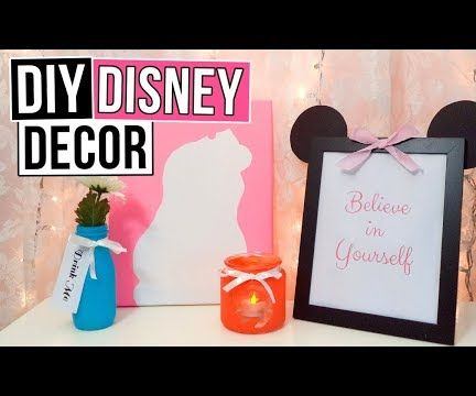 4 DIY Disney Room Decor Ideas