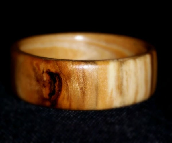 Bentwood Ring. Driftwood From the Oregon Coast and Douglas Fir.