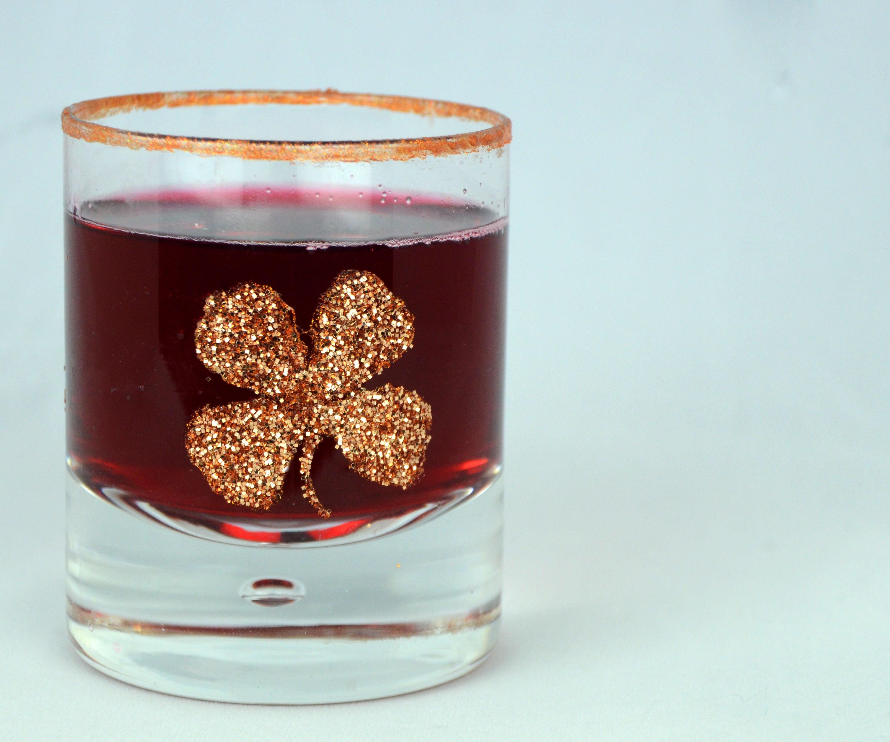 Gold Glasses for St. Patricks Day!