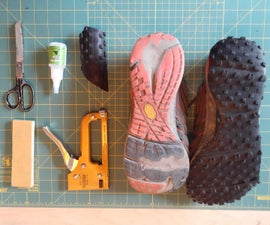 Retread Running Shoes With Upcycled Bike Tire