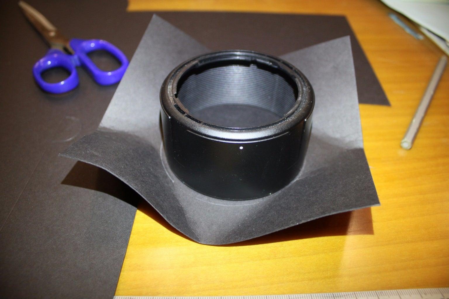 Mount Filter on Your DSLR