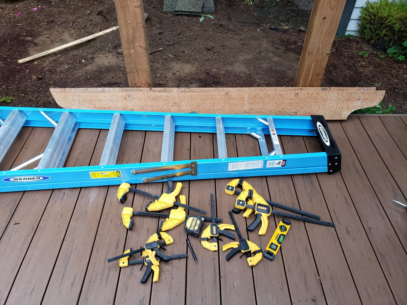 Arch Arbor Front Board Installation Part 1