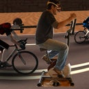 Virtual Exercise Bike Race