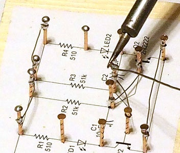 Top Each Nail With a Blob of Solder