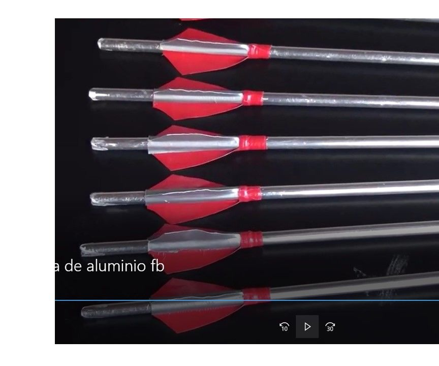 Flechas De Aluminio