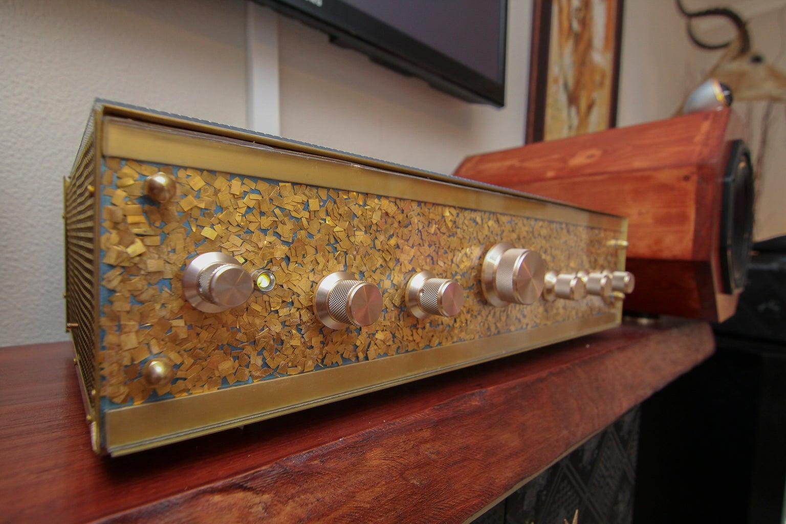 The Skeleton Amplifier Cabinet