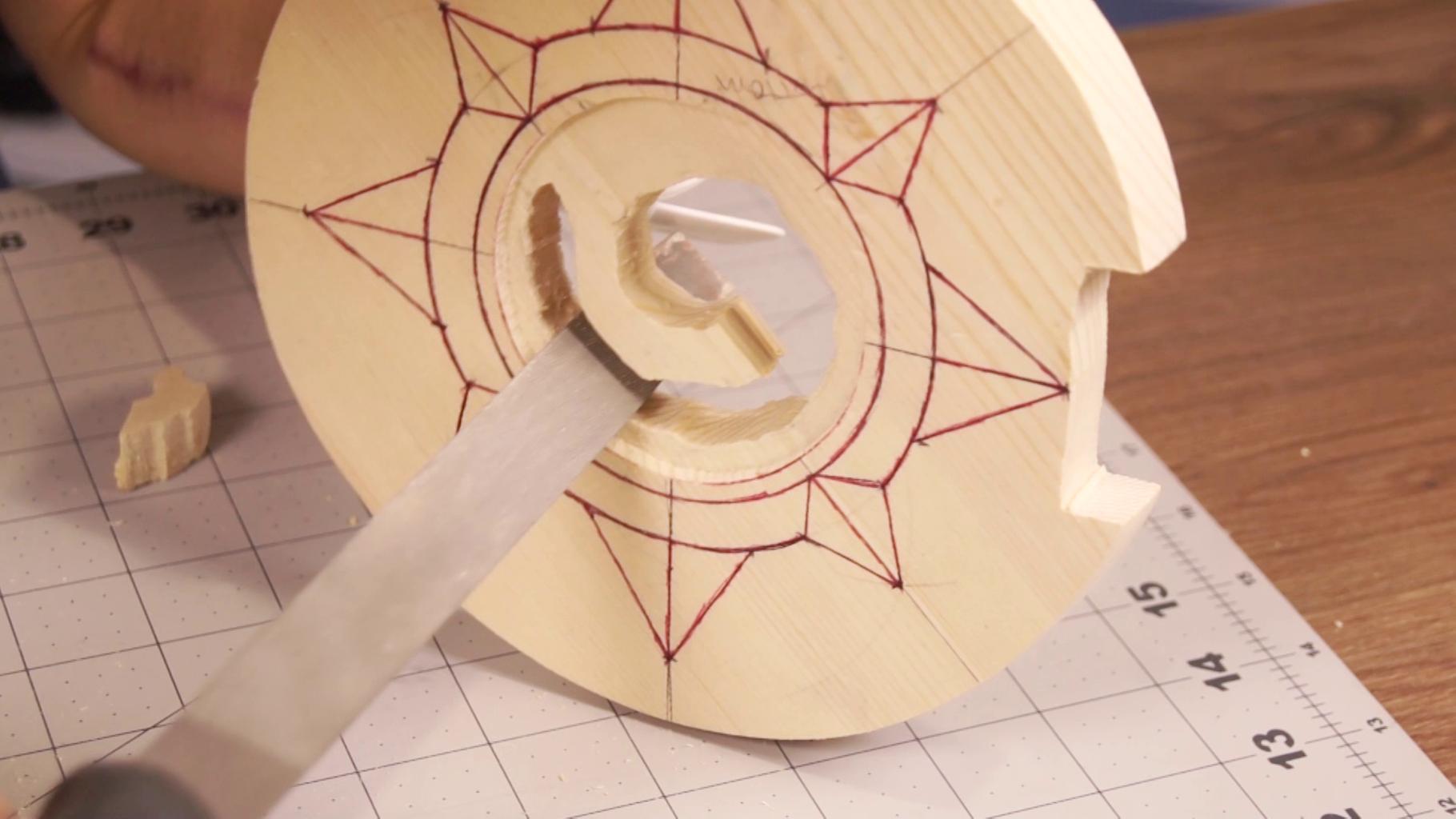 Remove Mass From Center Spiral