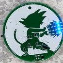 Goku PCB Badge