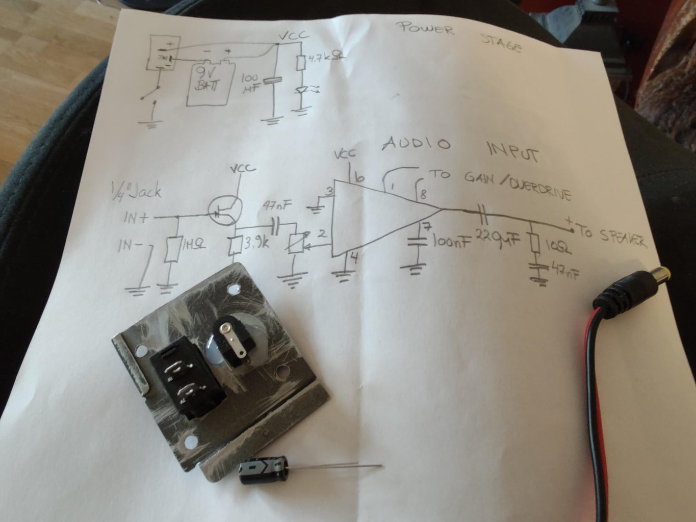 Build and Test the Circuit on a Prototyping Board