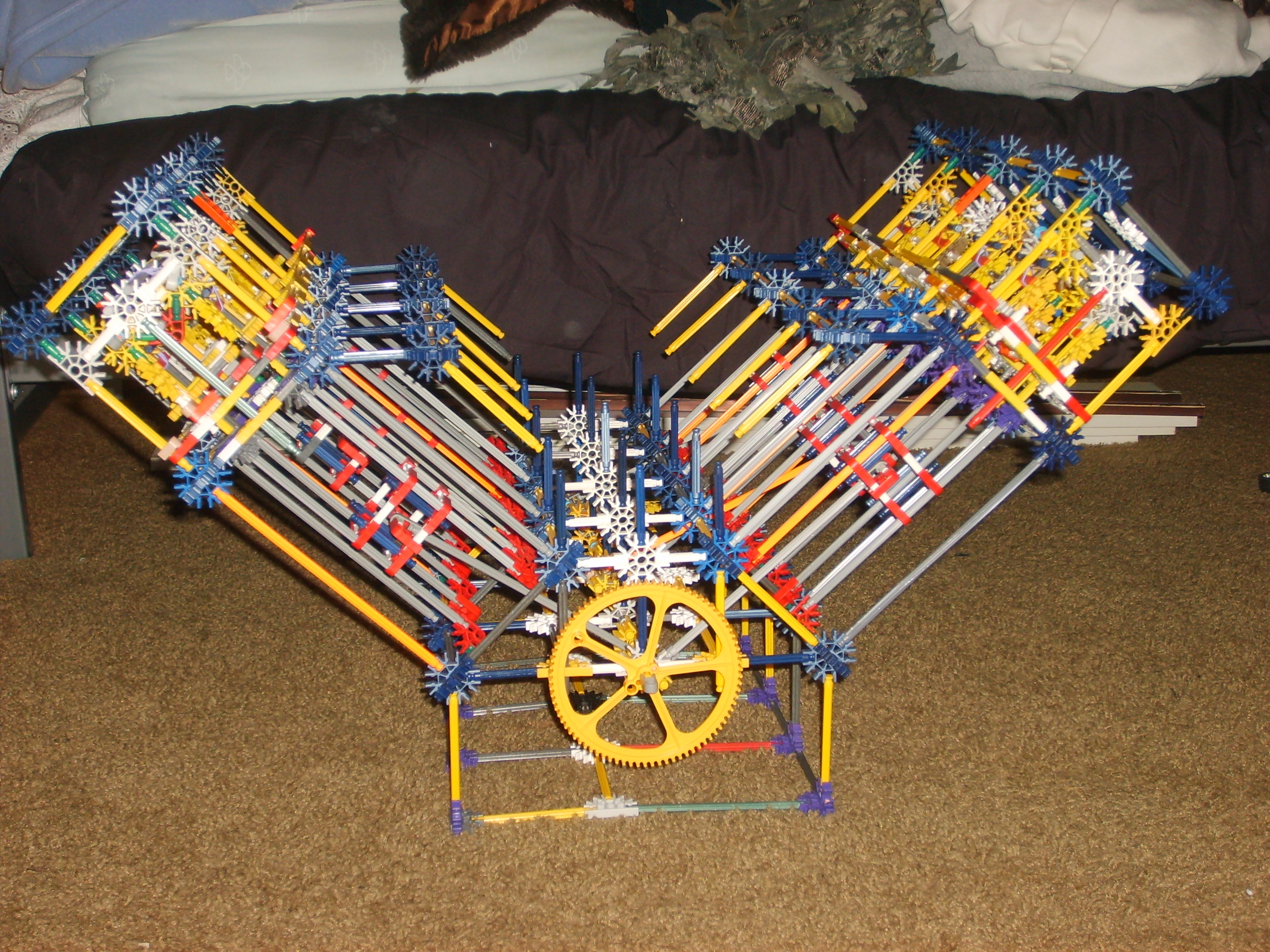 knex v8 diesel progress