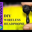 How to make wire Headphone Wireless  Broken Headphone-  Bluetooth Life Hack