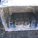 Make a Box Oven the Girl Scout Way