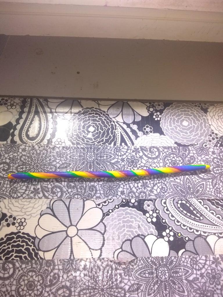 Rolling the Rainbow Log