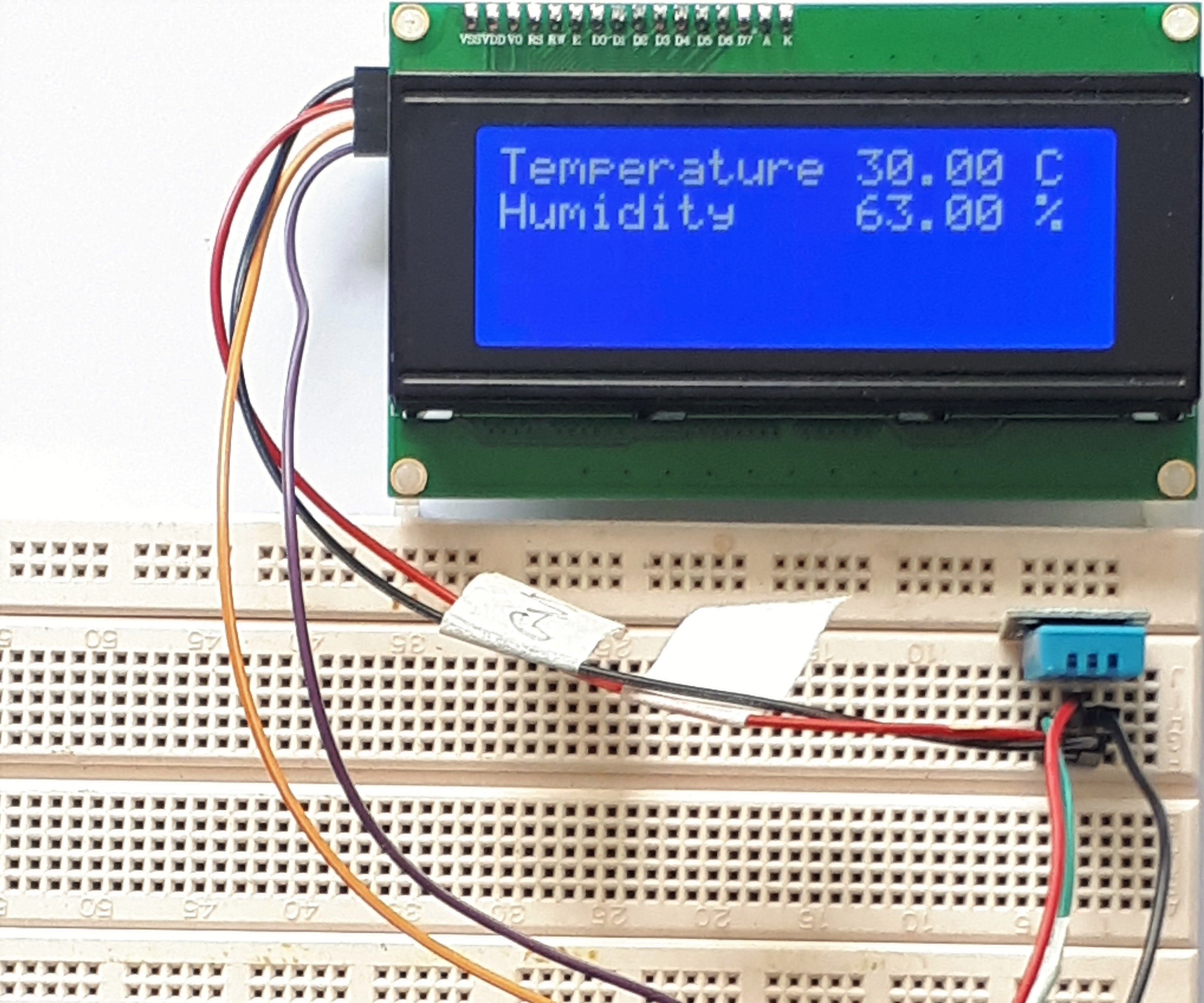 Sending Temperature & Humidity Data From Arduino to Raspberry Pi