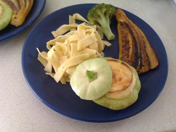 Easy Pattypan Mini Souffle