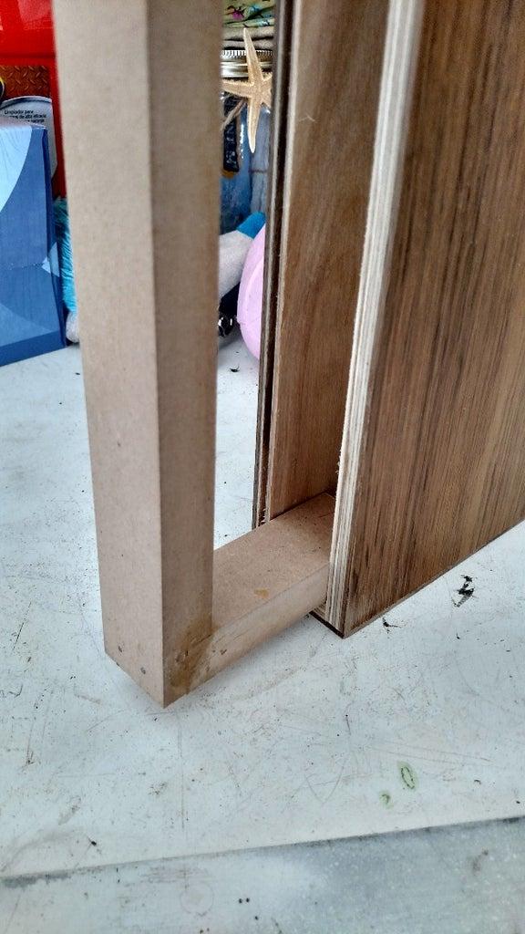 Recycled Wood Flooring Modern Shelf 4, Using Laminate Flooring For Shelves