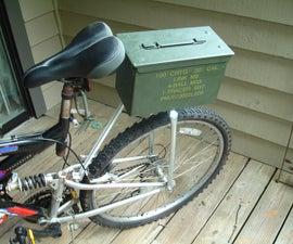 Full Suspension Bike Rack From Scrap!