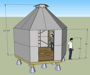 HexaFrame 2x4 Shelter