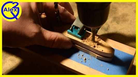 Drilling the Pinholes
