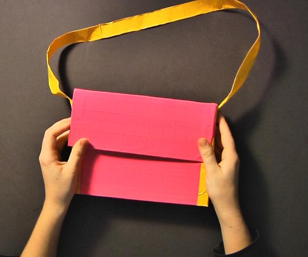 Duct Tape Bag (okay...Purse)