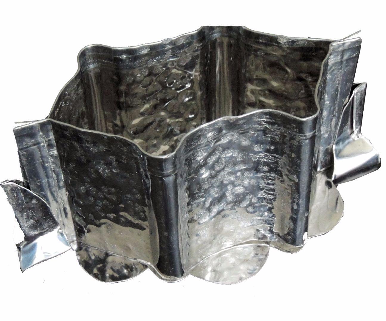 Making a raised pork pie mould by recycling a stainless steel IKEA bin