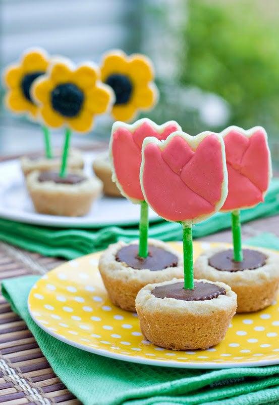Flower Pot Cookies