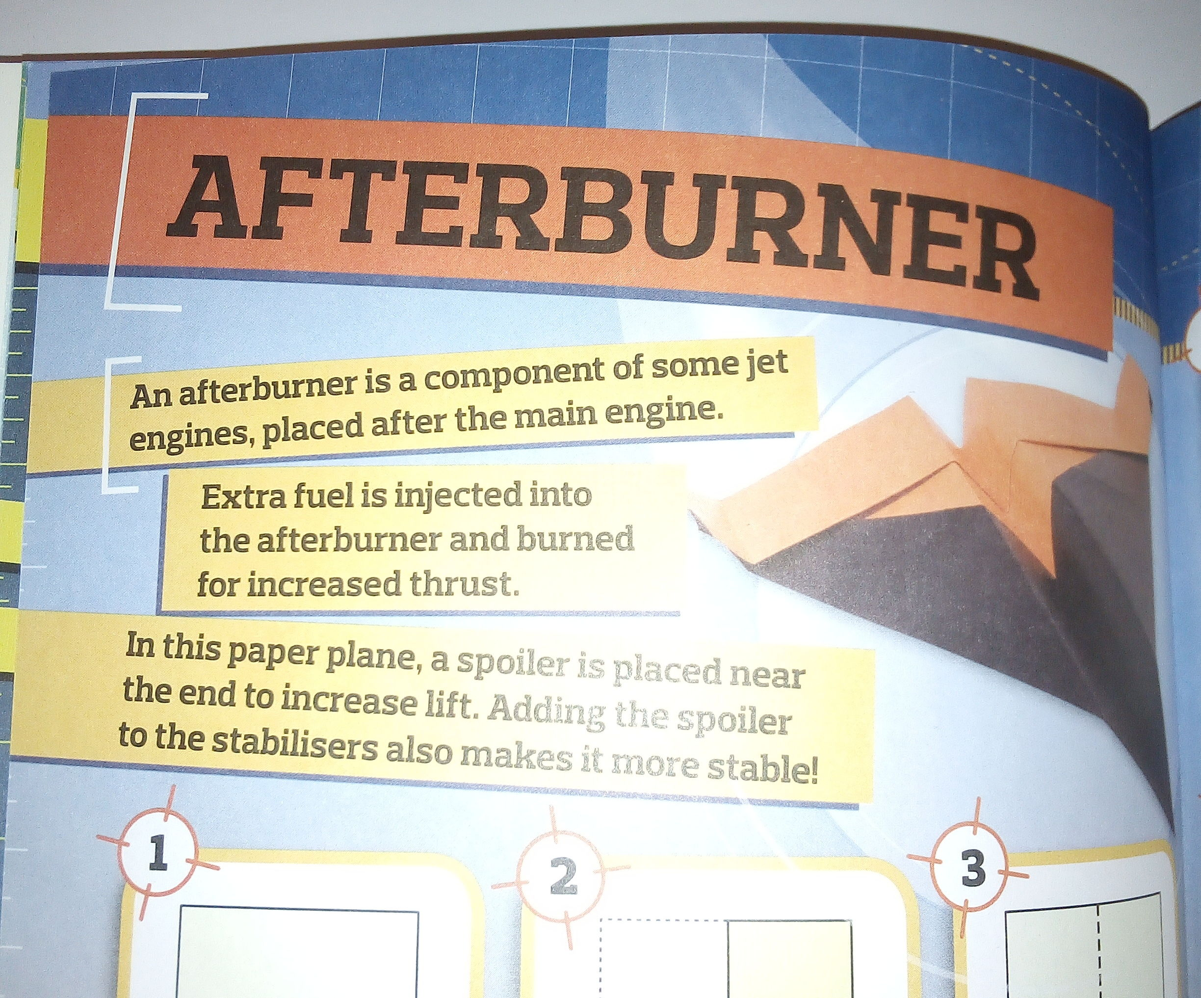 How to Make an Afterburner Paper Plane