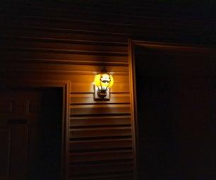 Pumpkin Light Decoration