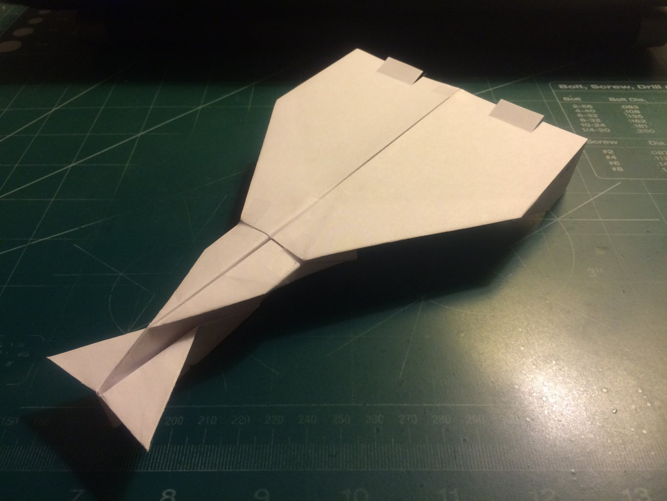 How to Make the Valkyrie Paper Airplane