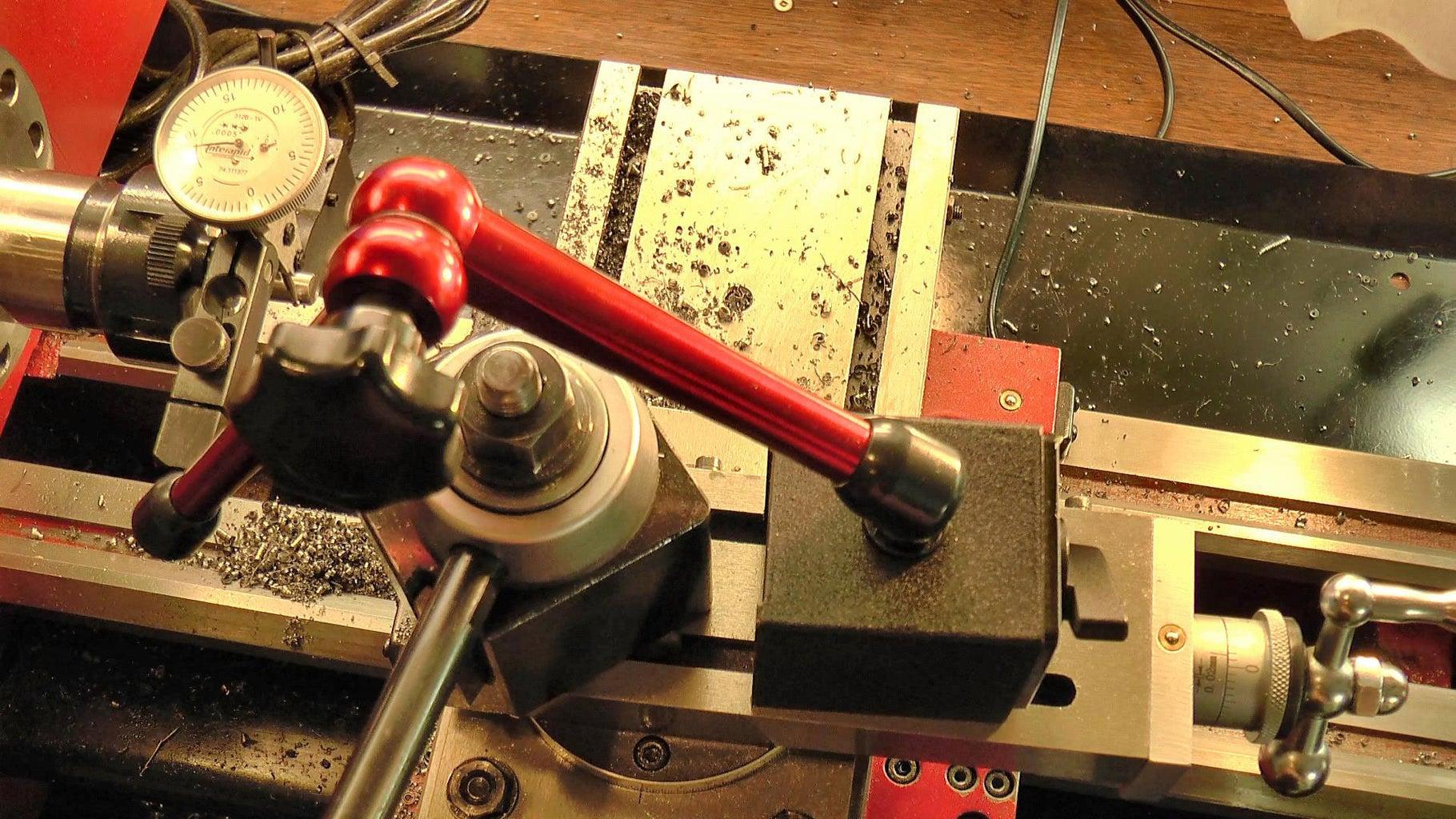 Turn the #0 Morse Taper