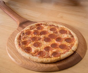 Wooden Pizza Peel