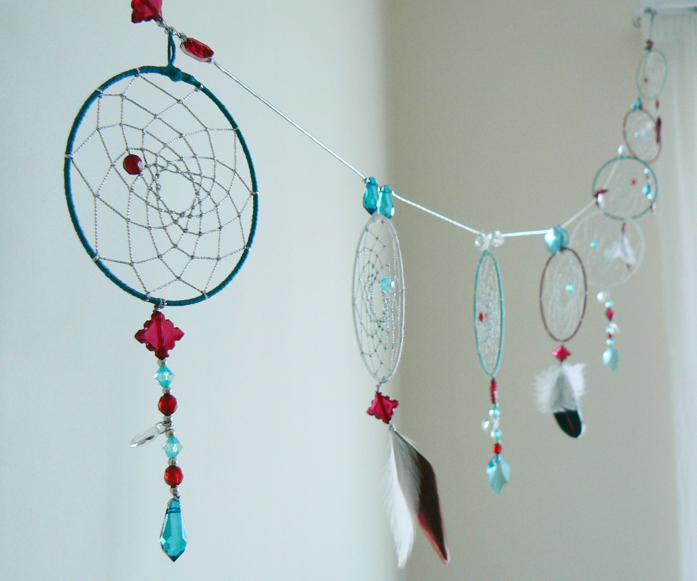 Dream catcher Garland