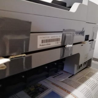 How to Fix a Broken Printer Hinge and Door Sensor (HP Officejet J6488 All-in-One - Maybe Helpful for Other Printers Too)