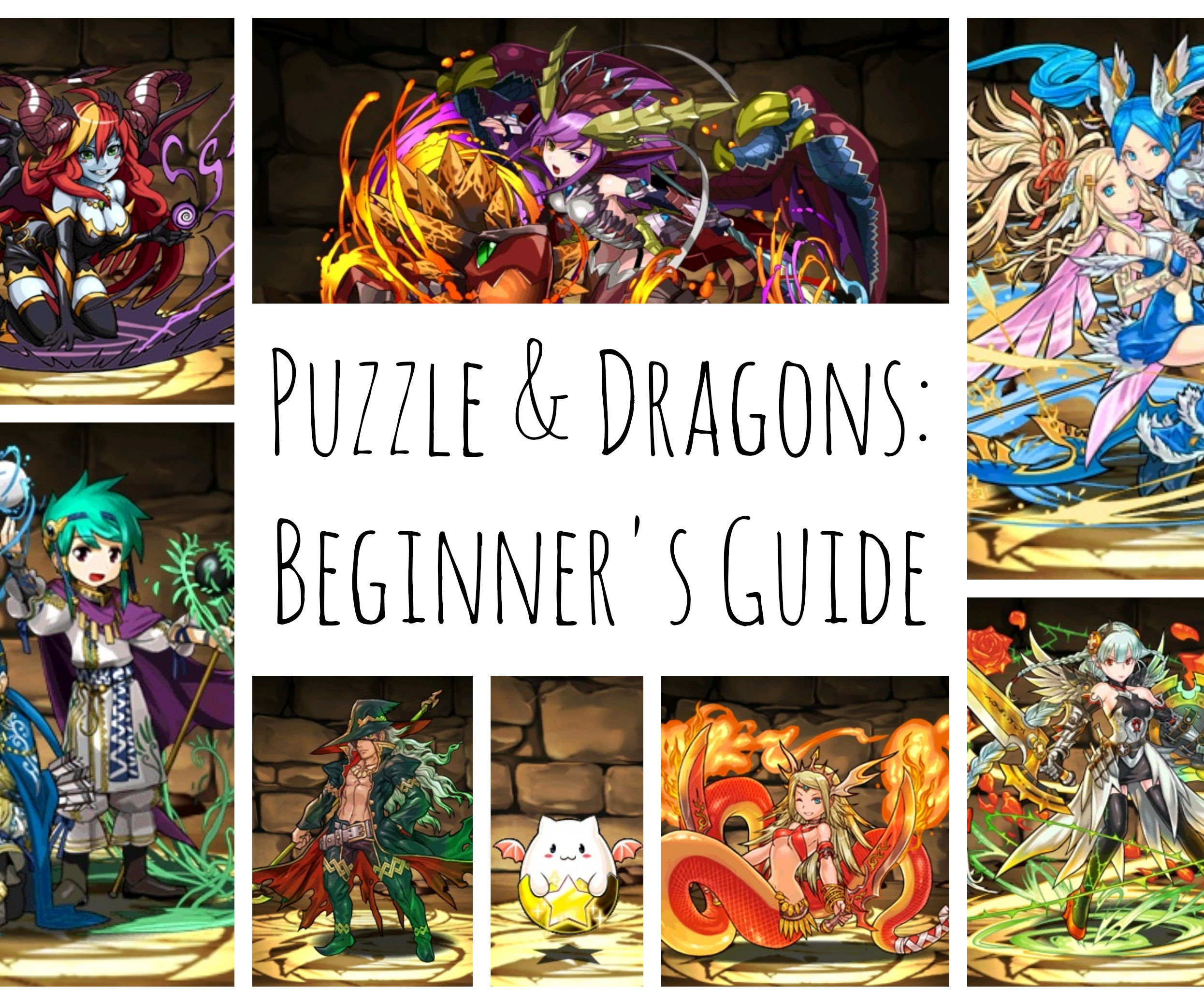 Puzzle and Dragons beginner's guide (updated for version 8.6)