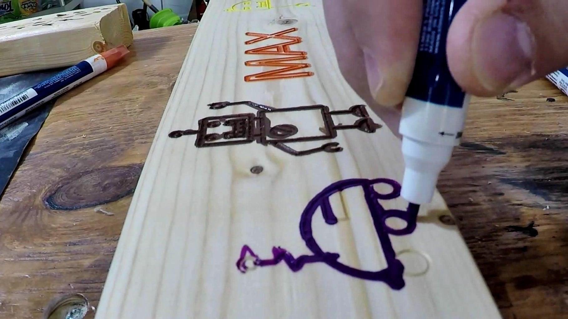 (Optional) Finish Headboard Engraving