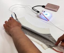 Resistive/Capacitive Sensing Tester (For E-textiles Soft Sensors and More)